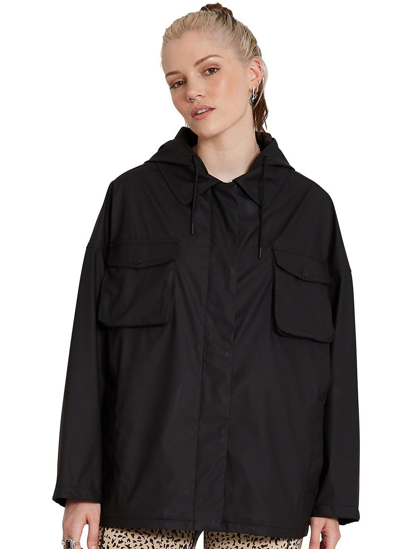 volcom boatrainer jacket black