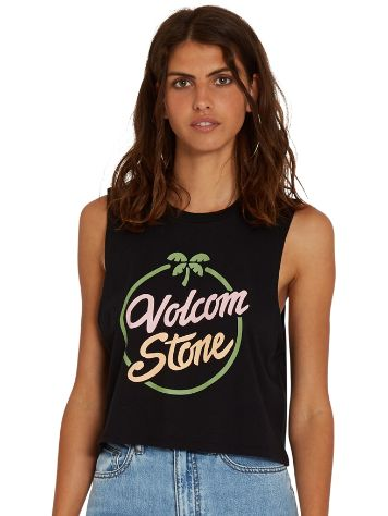Volcom Stone Hour Crop Tank Top