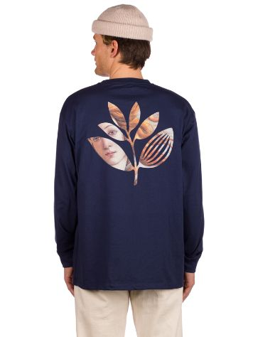 Magenta Boticelli Plant Long Sleeve T-shirt