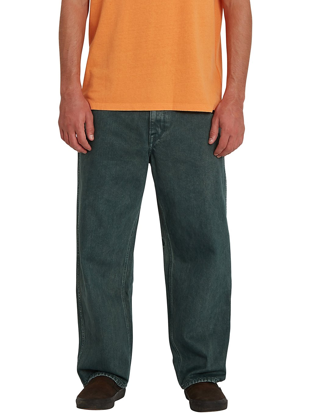volcom lurking about jeans evergreen