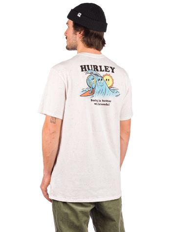 Hurley Evd Reg Earth And Surfs T-Shirt