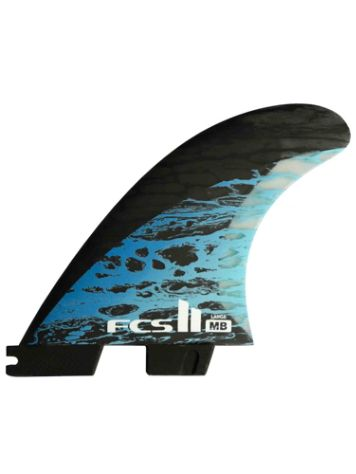 FCS II MB PC Carbon Medium Tri Retail Fin Set