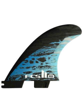 Gara Pressure Tab All-Round Tri Surfboard Fin Set FCS//FCS 2 Compatible Magenta