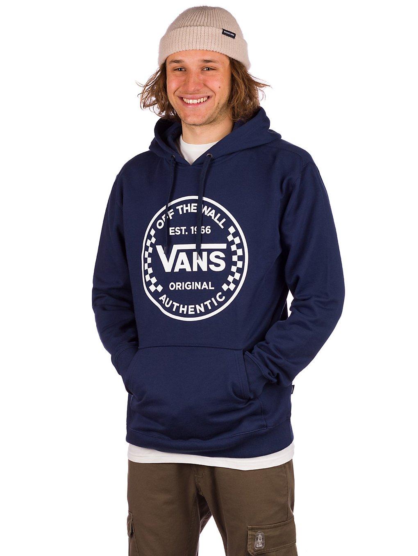 Vans Authentic Checker Hoodie bleu
