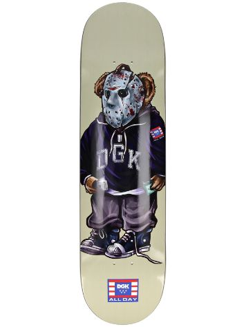 "DGK The Plug 8.0"" Skateboard Deck"