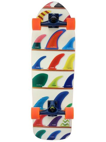 "Miller Wheels & Fins 32"" Surfskate"
