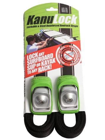 Kanulock 2.5m / 8 Ft Kanulock Lockable Tiedown Set