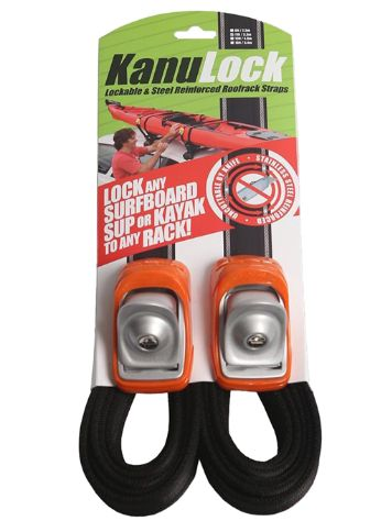 Kanulock 3.3m / 11 Ft Kanulock Lockable Tiedown Set