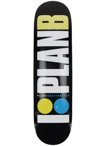"Plan B Team OG Neon 8.25"" Skateboard Deck"