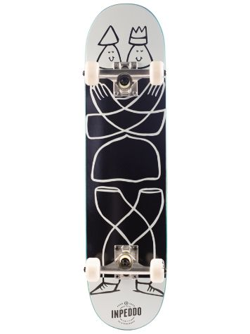 "Inpeddo Smarty Black 7.75"" Skateboard"