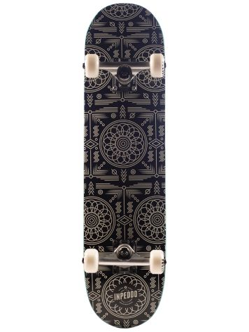 "Inpeddo Carpet Black 7.25"" Skateboard"