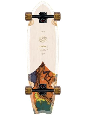 "Arbor Groundswell Sizzler 31"" Cruiser"