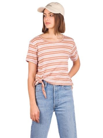 O'Neill Striped Knotted T-Shirt