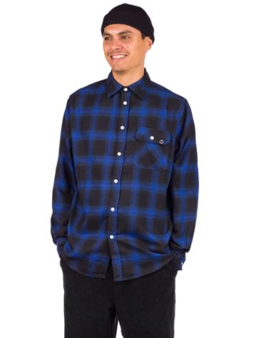 Blue Tomato Plaid Flannel Chemise