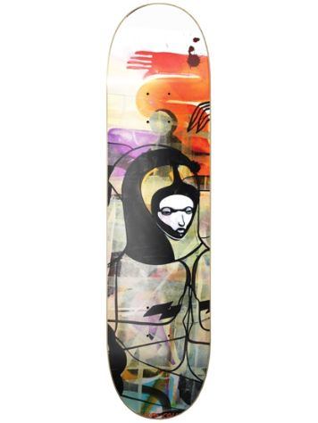 "Colours Will Barras X Paul H Grunge Queen 8.15"" Skateboard deck"