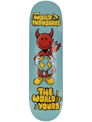"World Industries World Is Yours 8.5"" Skateboard Deck"