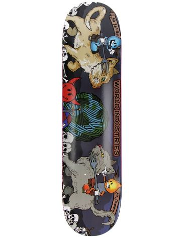 "World Industries Cats 7.5"" Skateboard deck"
