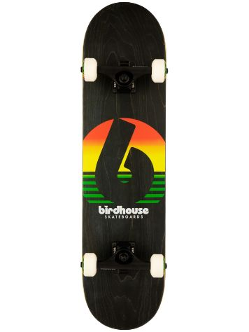 "Birdhouse Sunset 7.75"" Complete"
