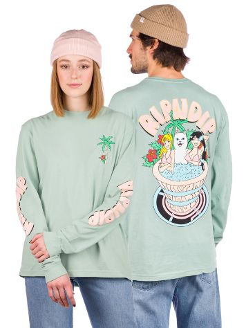 RIPNDIP Hot Tub Longsleeve T-Shirt