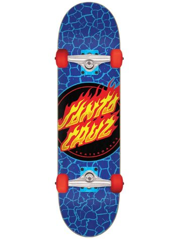 "Santa Cruz Flame Dot Micro 7.5"" Skateboard"