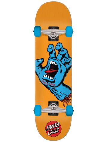 "Santa Cruz Screaming Hand Mid 7.8"" Skateboard"
