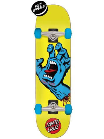 "Santa Cruz Screaming Hand Mini 7.75"" Skateboard"