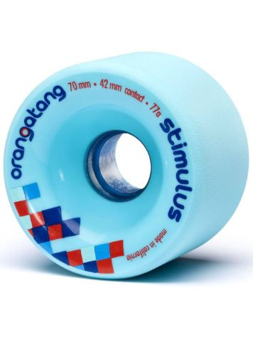 Orangatang Stimulus Blue 70mm 77a Wheels