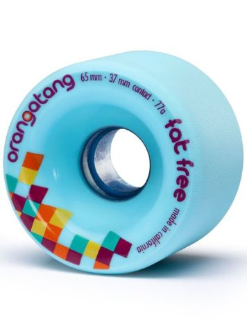Orangatang Fat Free 65mm 77a Wheels
