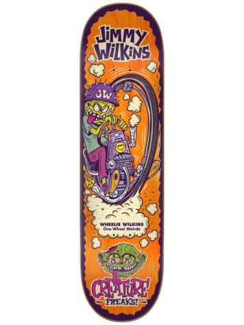 "Creature Wilkins Freaks 8.375"" Skateboard Deck"