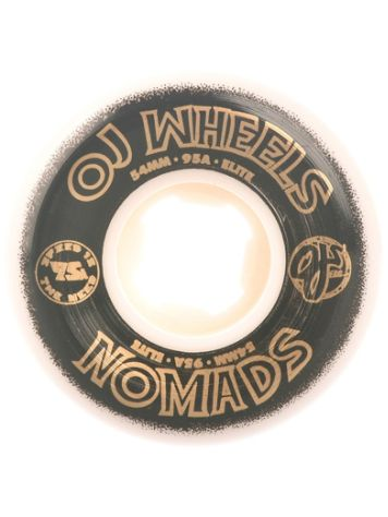 OJ Wheels Elite Nomads 95A 54mm Rollen