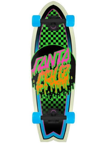 "Santa Cruz Rad Dot Shark Cruiser 8.8"" Cruiser complet"