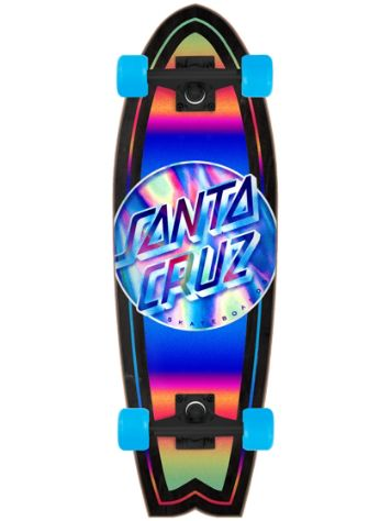 "Santa Cruz Iridescent Dot Shark Cruiser 8.8"" Cruiser"