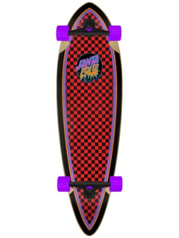 "Santa Cruz Rad Dot Pintail Cruiser 9.2"" Complet"