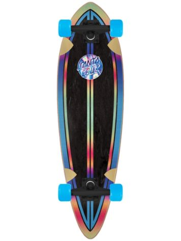 "Santa Cruz Iridescent Dot Pintail Cruiser 9.2"" Complet"