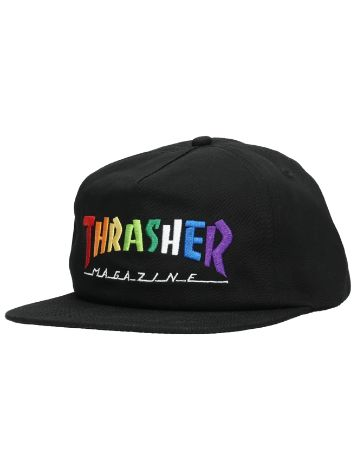Thrasher Rainbow Mag Embroidered Gorra