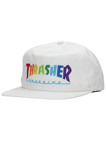 Thrasher Rainbow Mag Embroidered Lippis