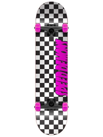 "Speed Demons Checkers 7.75"" Skateboard"
