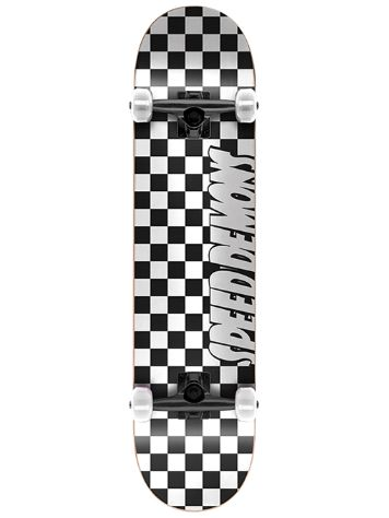 "Speed Demons Checkers 8"" Skateboard"