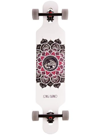 "Long Island Longboards Lotus Drop Through 39"" Complet"