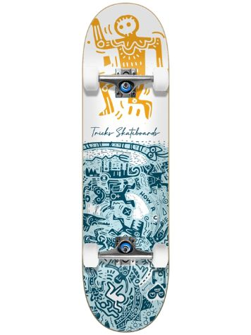 "Tricks Tribal 7.75"" Skateboard"