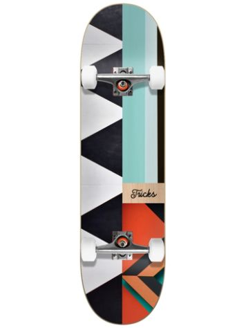 "Tricks Pattern 7.87"" Skateboard"
