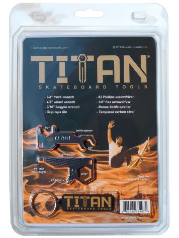 Titan Skateboard Tools Key Chain Tool