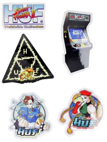 HUF Street Fighter II Set Sticker