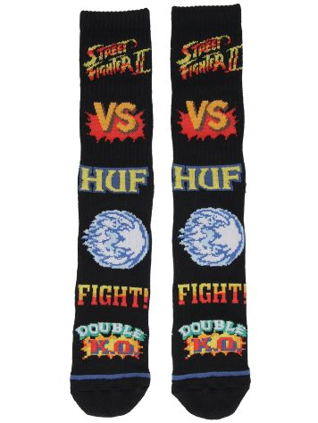 HUF X Streetfighter II Street Fighter Graphi Chaussettes