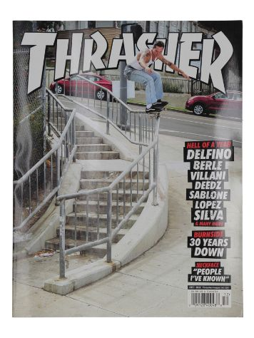 Thrasher Issues December 2020 Magazin