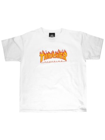 Thrasher Flame Kids Camiseta