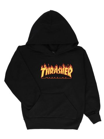 Thrasher Flame Kids Pulover s kapuco