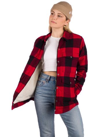 Dickies Flannel Sherpa Lined Long Sleeve T-Shirt