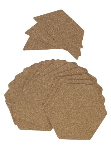 RS Pro Cork Hexatraction Surf 15 Pieces Pad