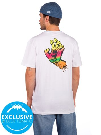 Santa Cruz BT Multi Fade Screaming Hand T-Shirt
